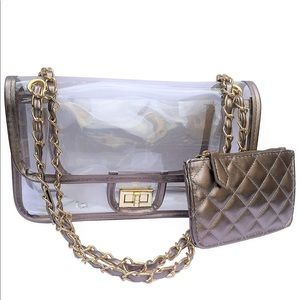 Brand new designer style PU crossbody bag